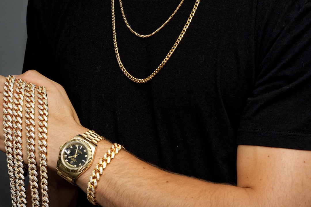 Gold City Shop Cuban link collection