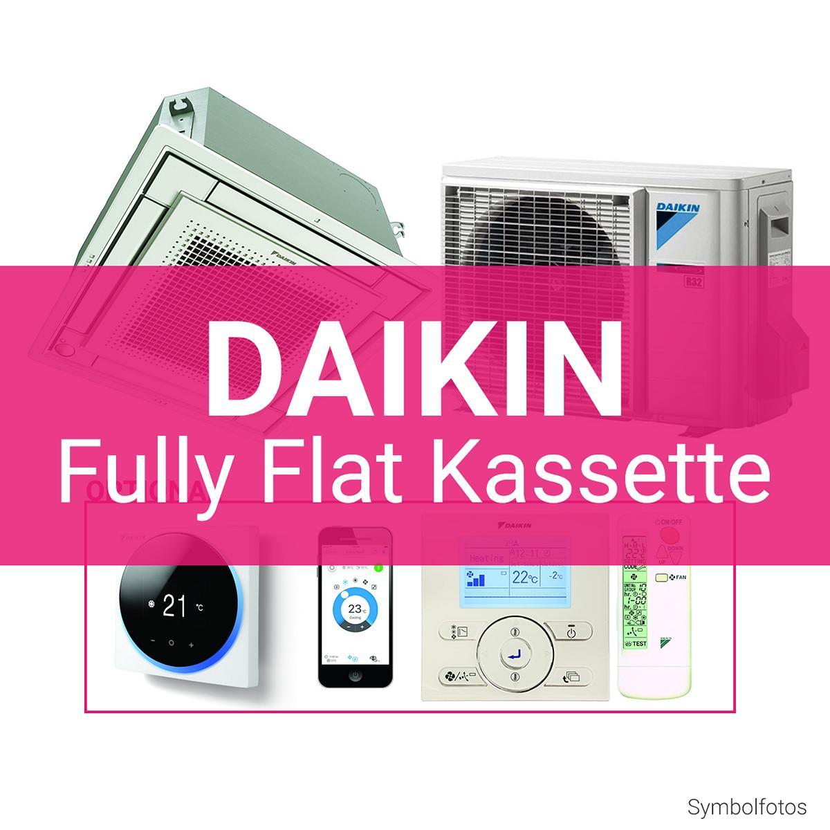 Daikin Fully Flat Kassetten Gerät R32