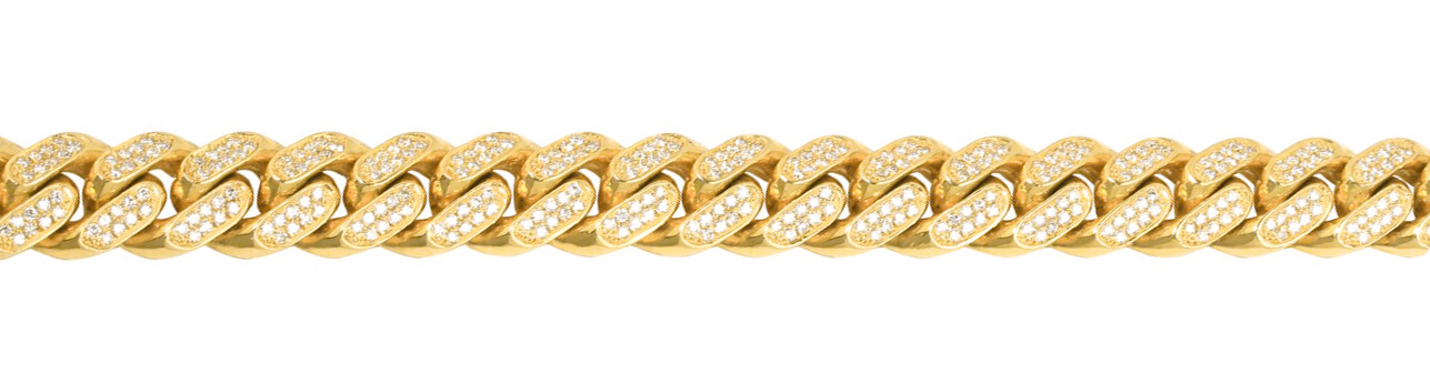 Gold City Diamond Cuban Chain