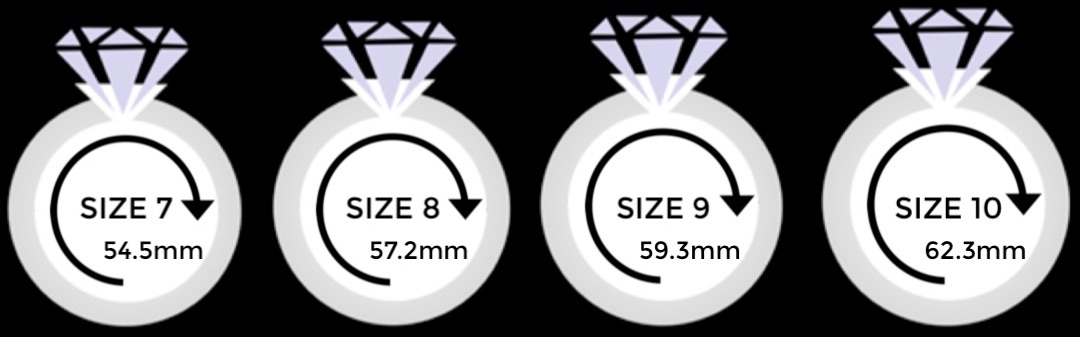 Gold and Diamond Ring Sizing Guide