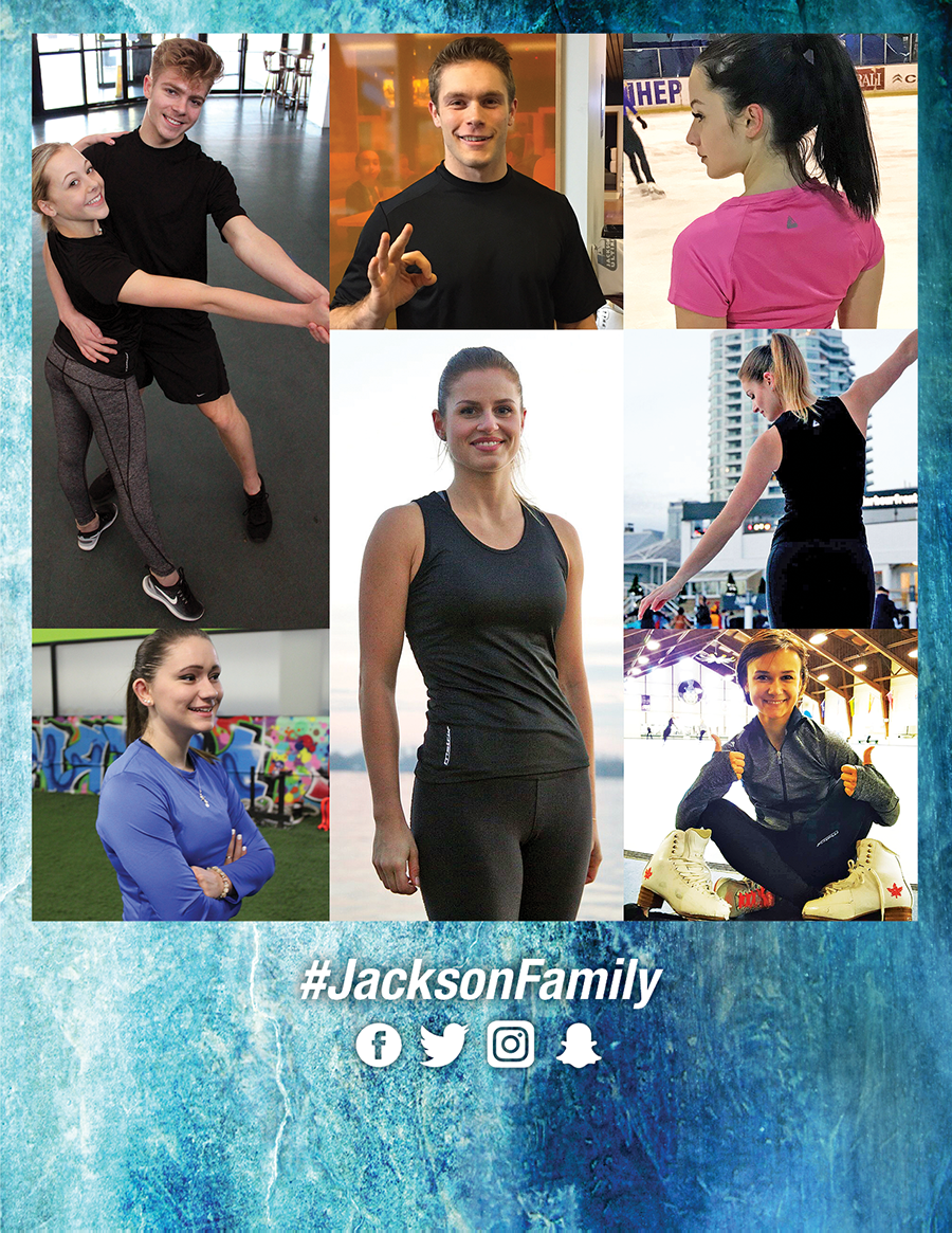 Jackson Family wearing Jackson Gear #jacksonfamily