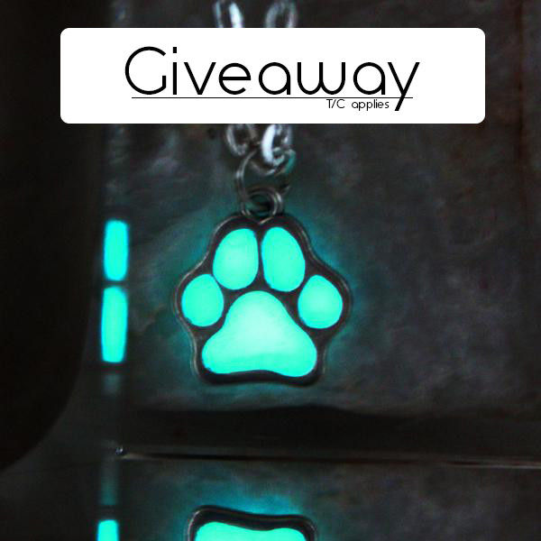 pawrawr Giveaway necklace