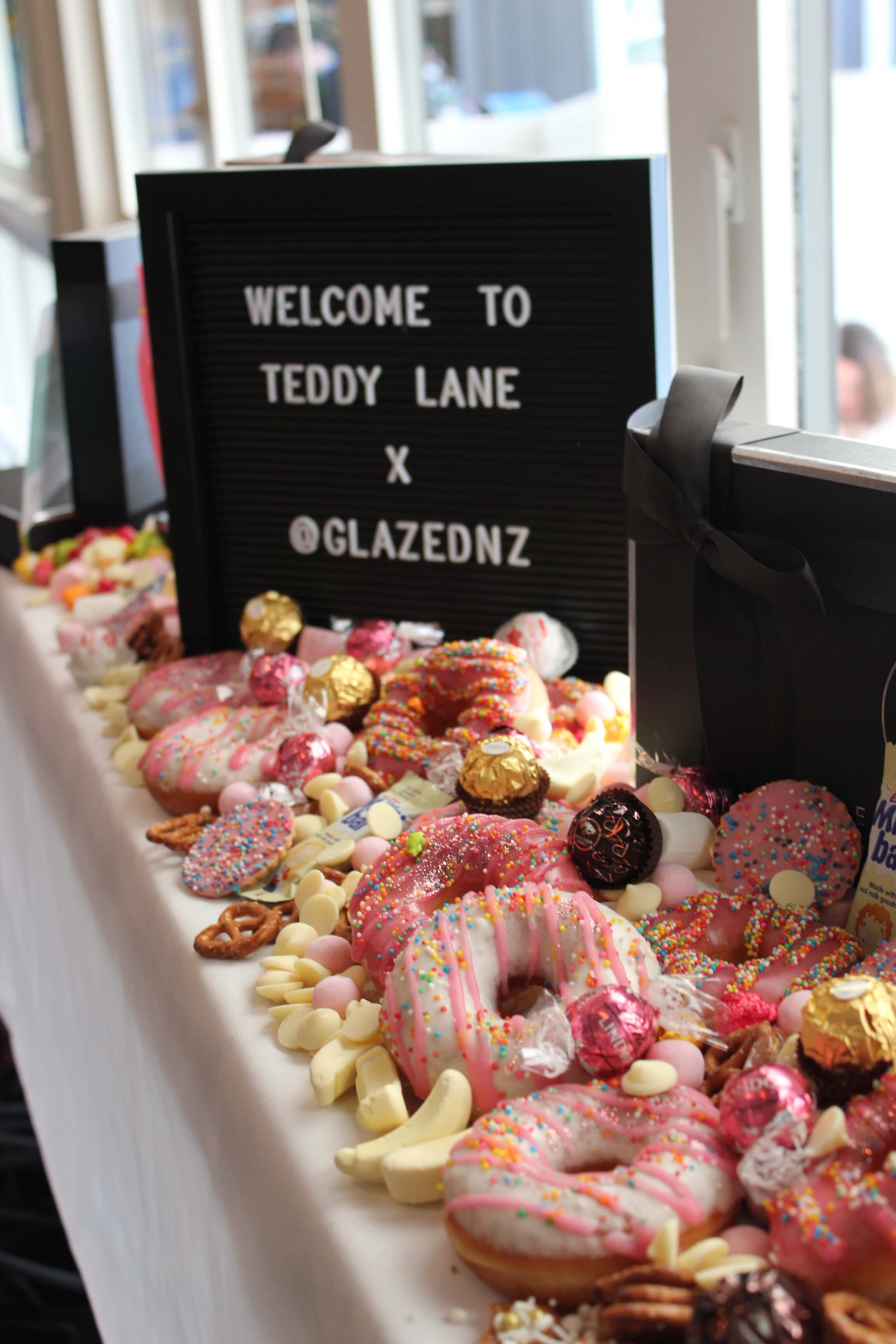 Glazed event catering Wellington
