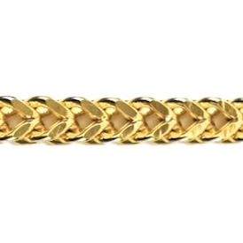 Gold Franco link chain or bracelet