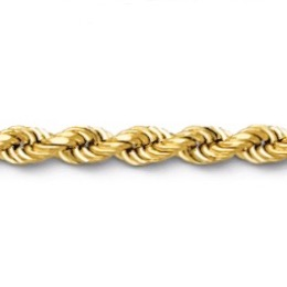 Gold Rope link chain or bracelet
