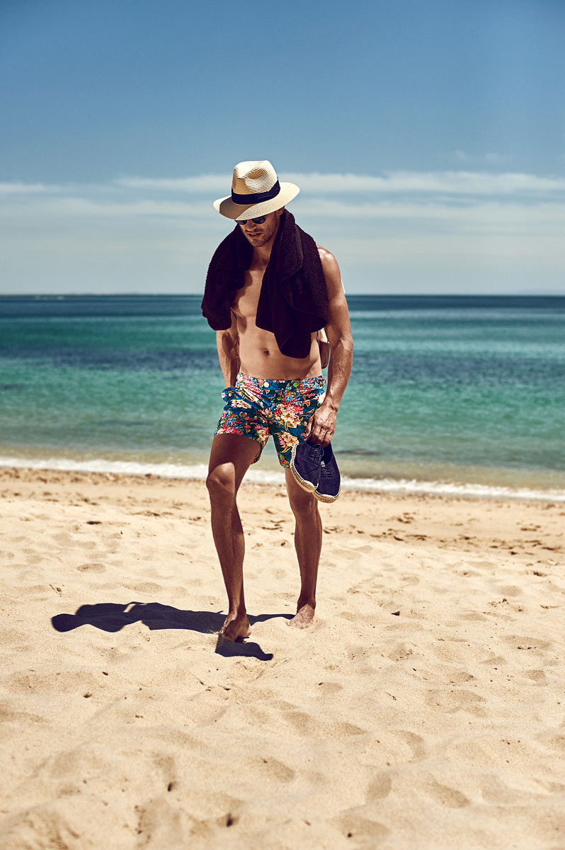 The best floral print swim shorts for men