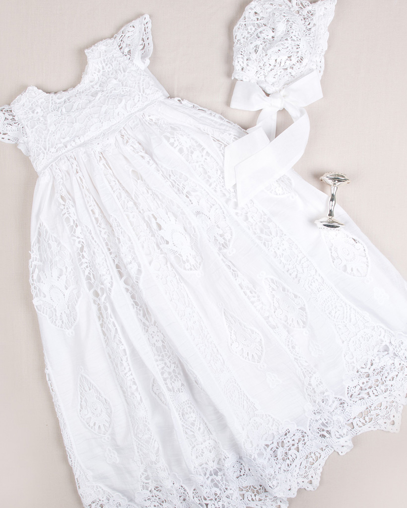 Grace White Heirloom Christening Collection