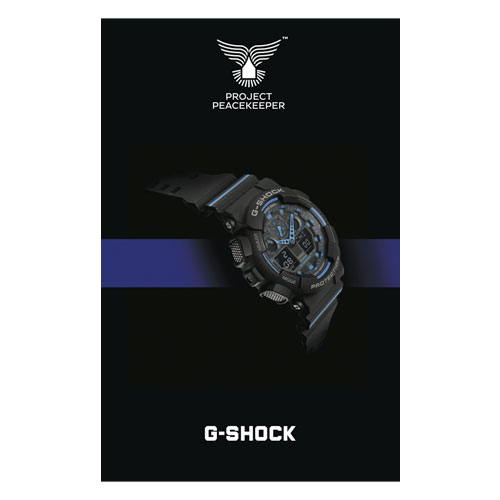 Project Peace Keeper G-Shock  - Hometown Guardians Partner