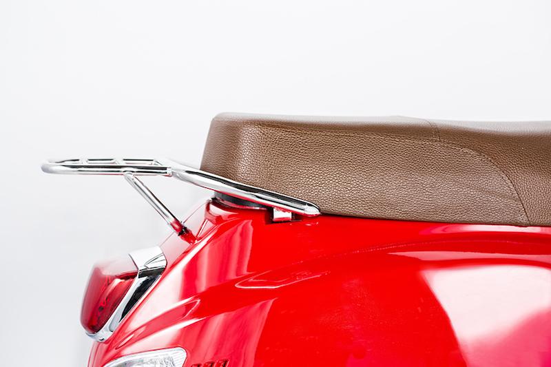 minimoto. GTS - Motorroller - Detailansicht Sitz