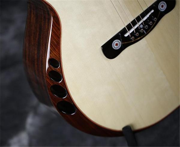 Armrest guitare avec évents