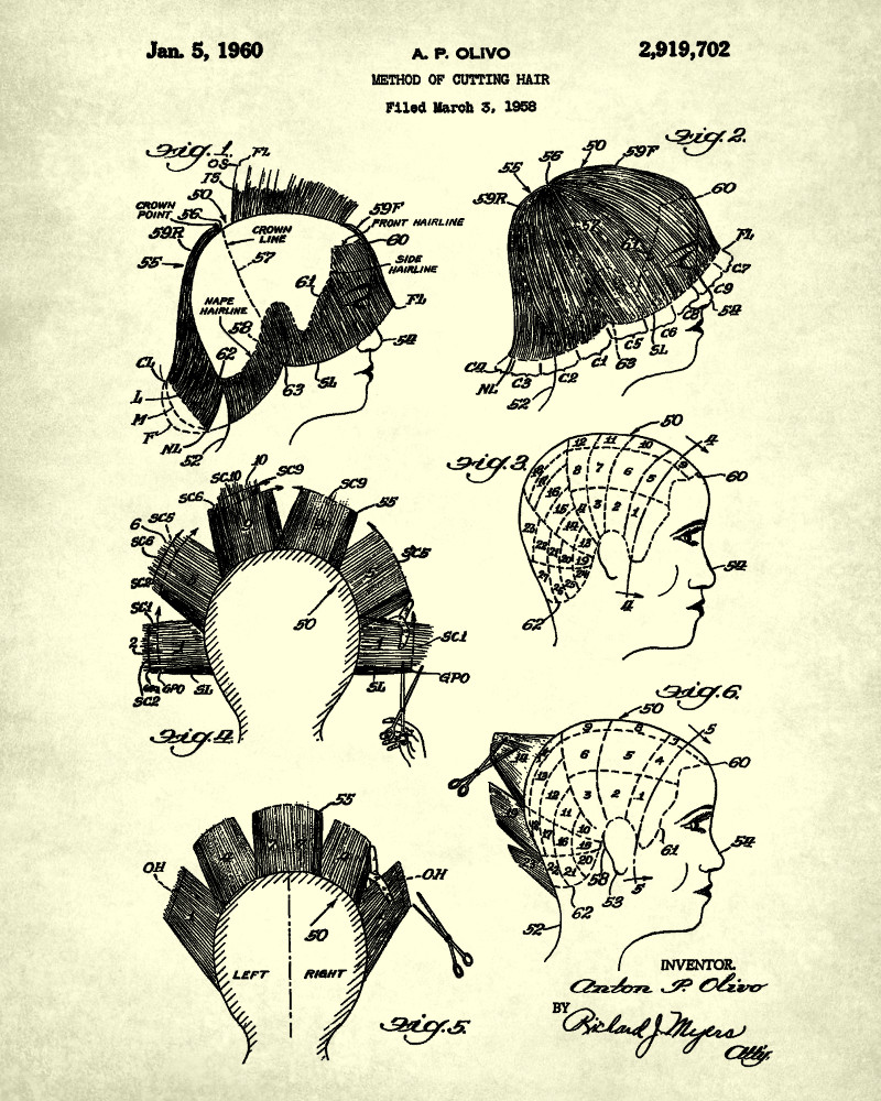 hair cutting patent