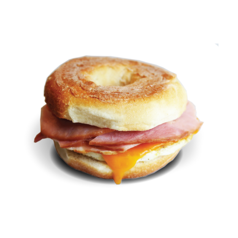 Ham, Egg & Cheese