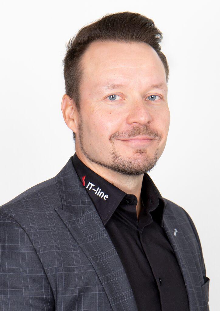 Toimitusjohtaja Hannu Karlsson IT-Line