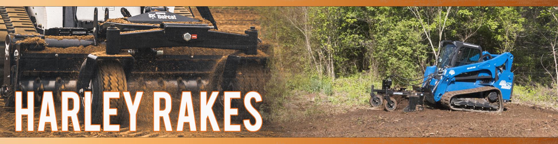 Skid Steer Harley Rakes