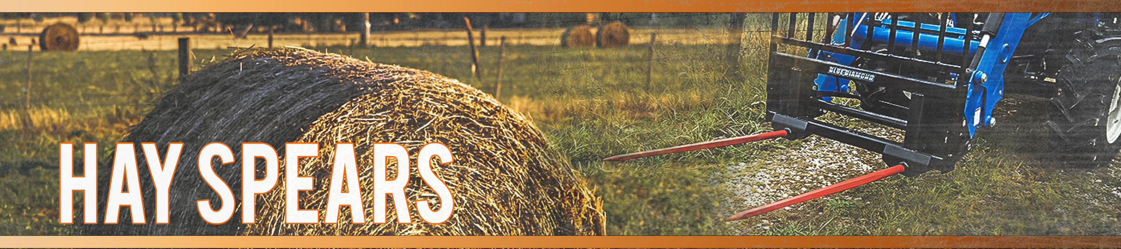 Hay & Forage Attachments for Farm Equipment