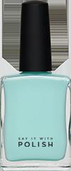 Aqua Nail Polish