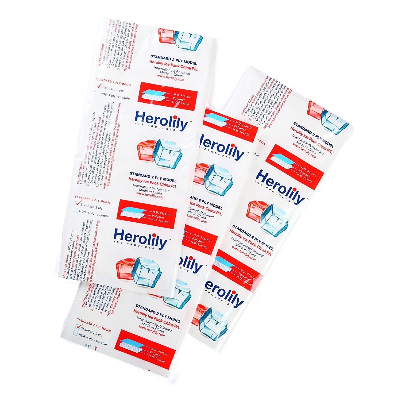 Herolily FDA Compliant Ice Packs