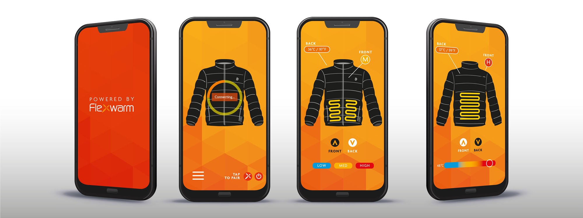 App Controlled Heated Jacket