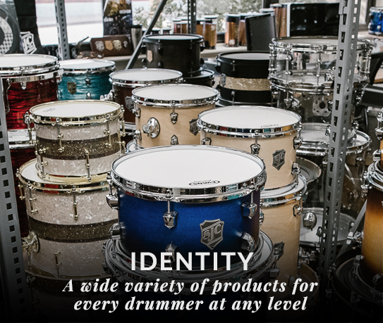 Identity of SJC Custom Drums