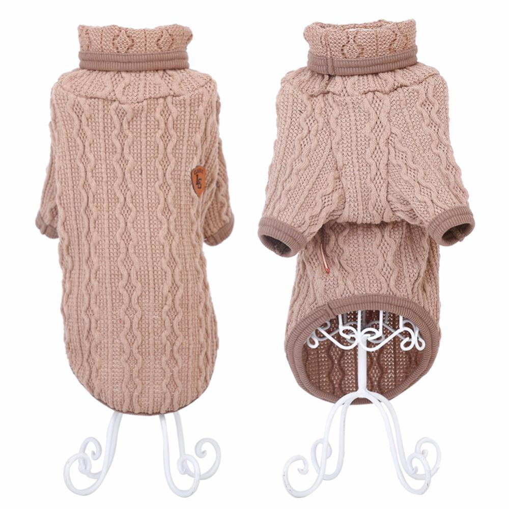 beigeclassicturtleneckdogsweater
