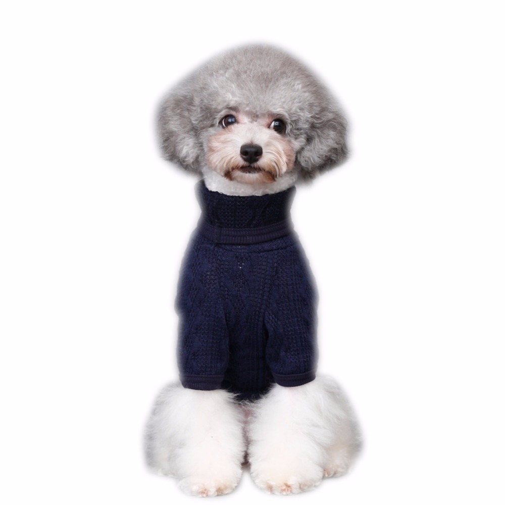 blueclassicturtleneckdogsweater
