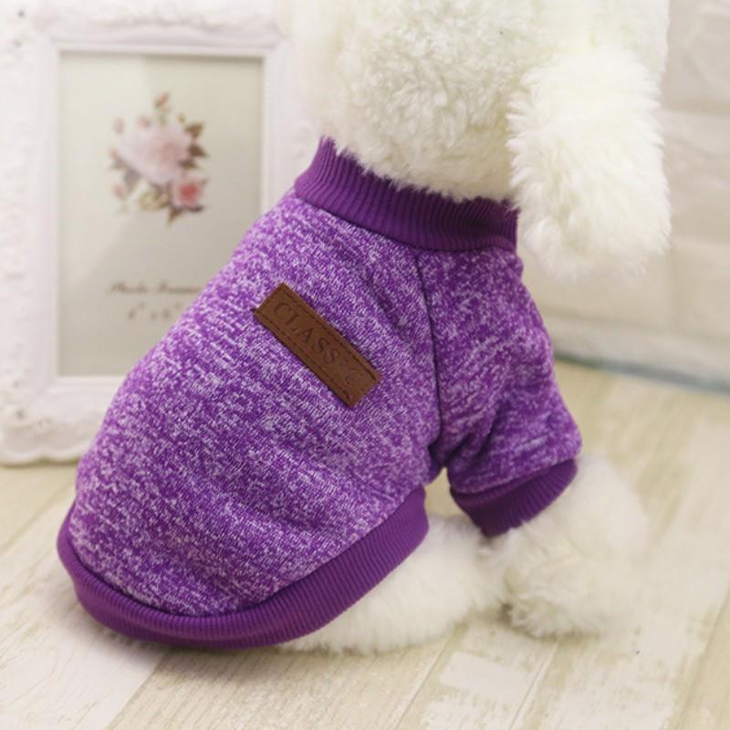 purpleclassicdogsweater