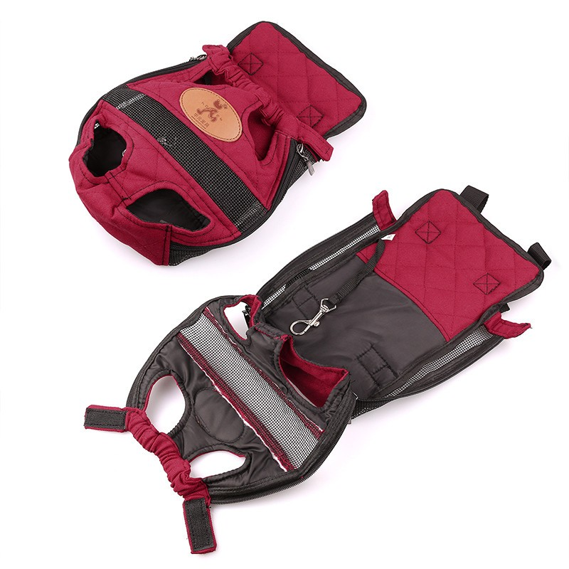 redcanvasbackpackdogcarrier