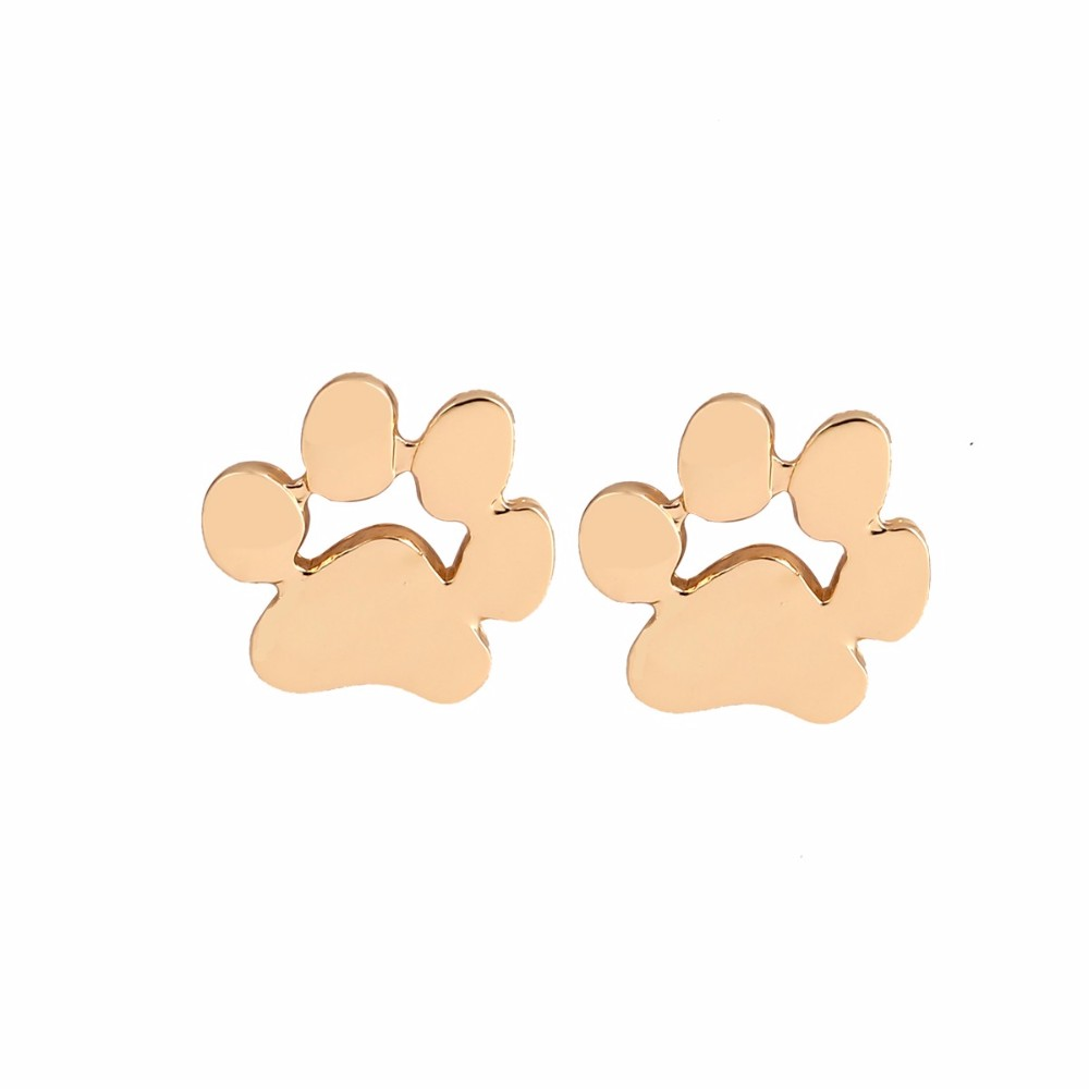 pawprintstudearrings