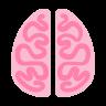 Pink Brain Icon