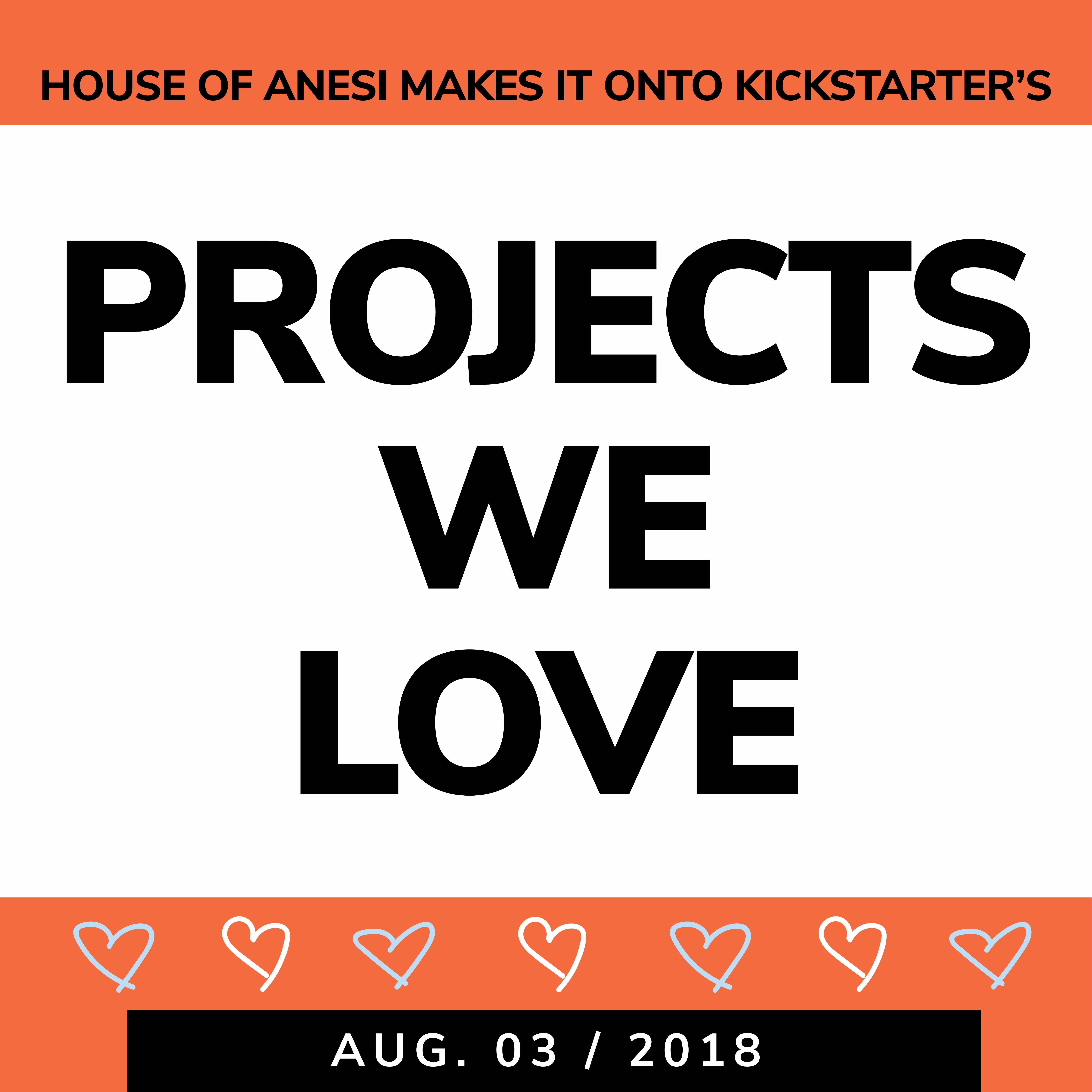 house of anesi kickstarter high lights - begining