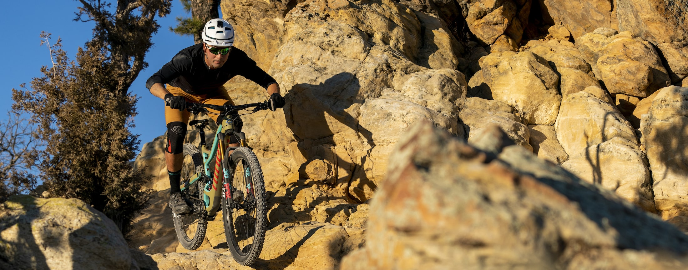 Image of a rider on a RIP 9 RDO 27.5
