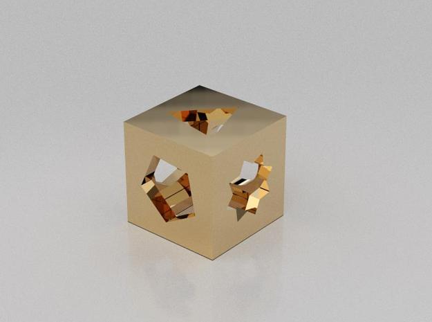 3D designed multi figures cube