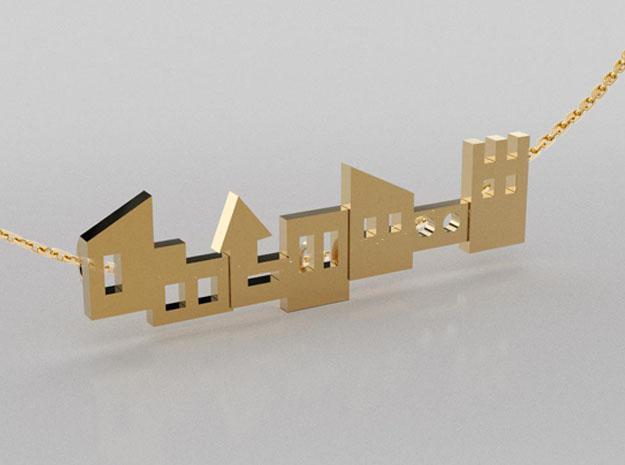 3D designed urban pendant
