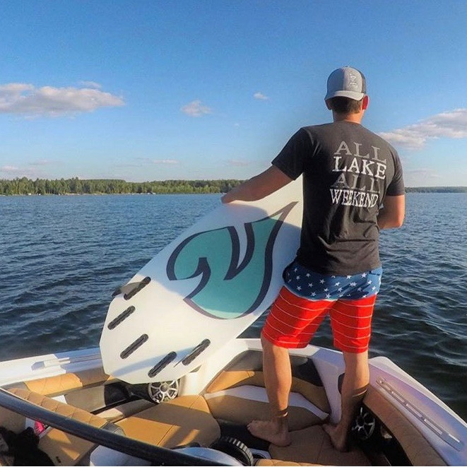 NautiCurl Wakesurf Boards, selecting a wakesurfer