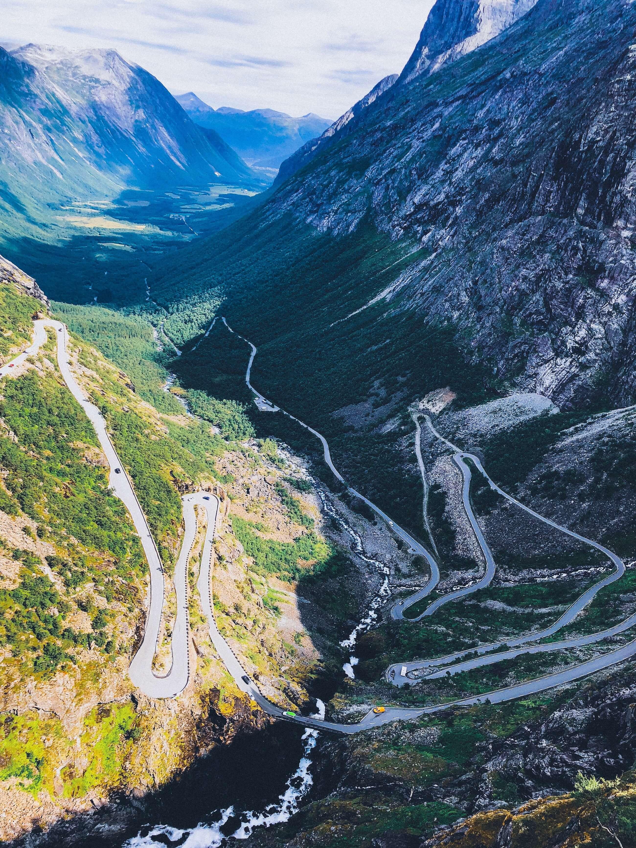 Trollstigen Norge Rivia Sports
