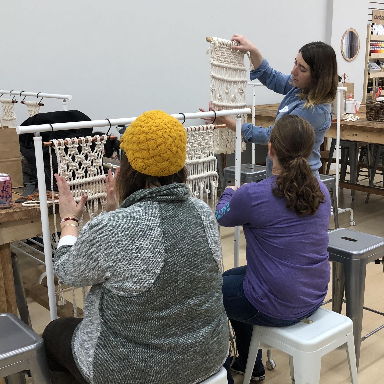 Macrame DIY Workshop Baltimore