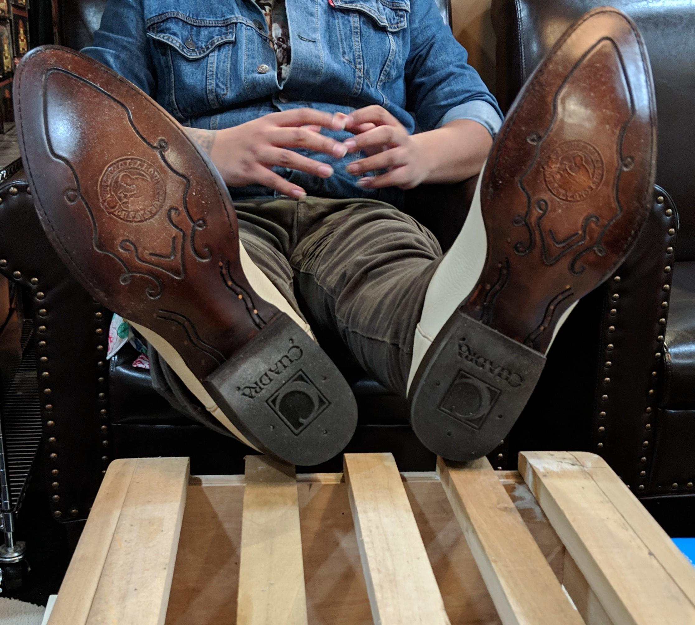 botas de venado