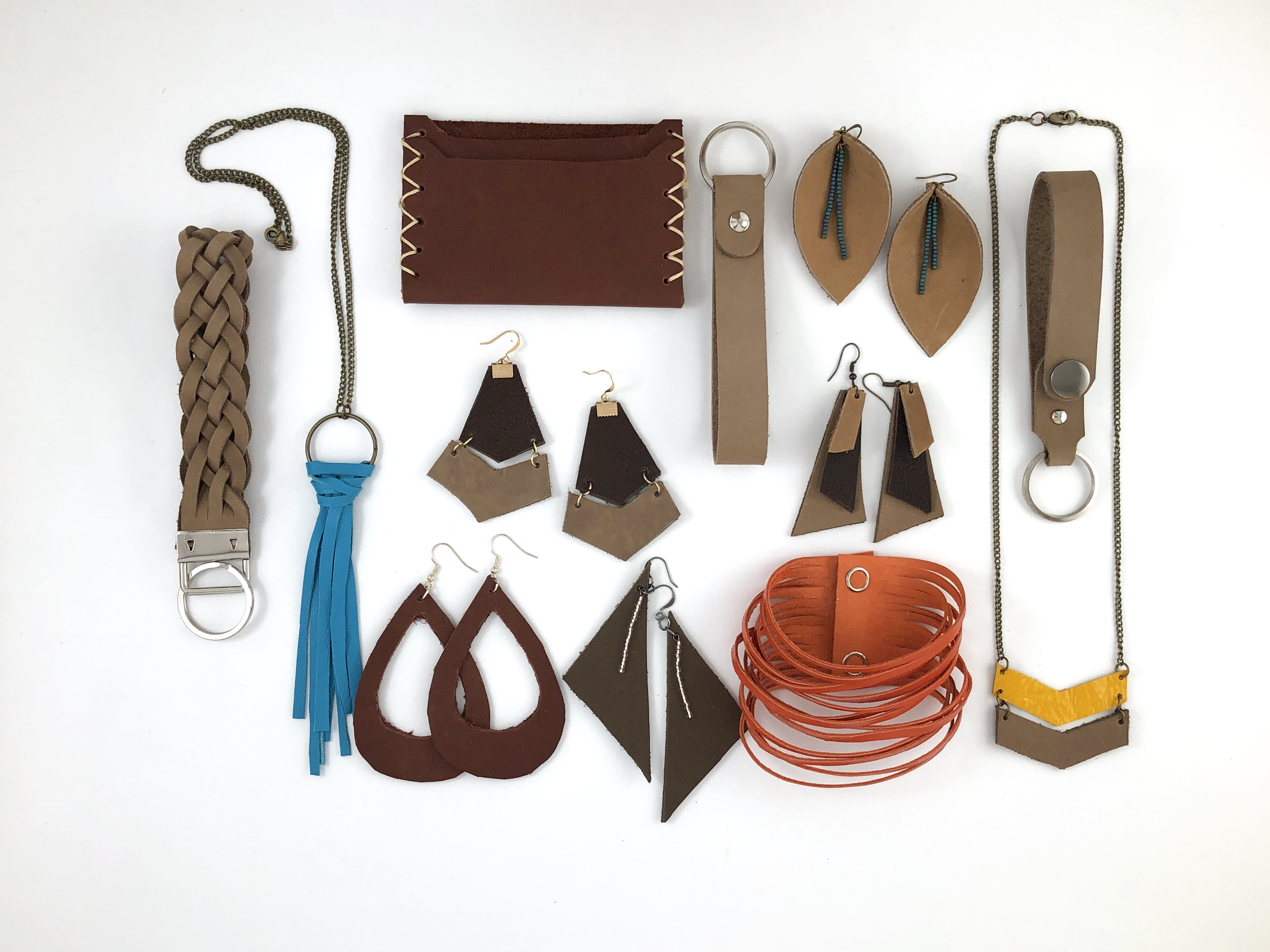 DIY Leather accessories