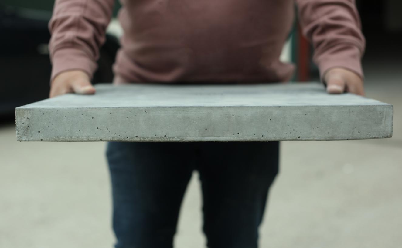 Lifgt Concrete Worktop