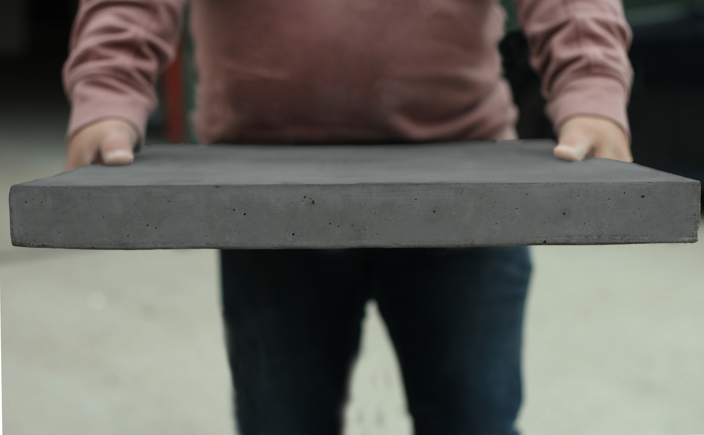 Dark polished Concrete Worktop