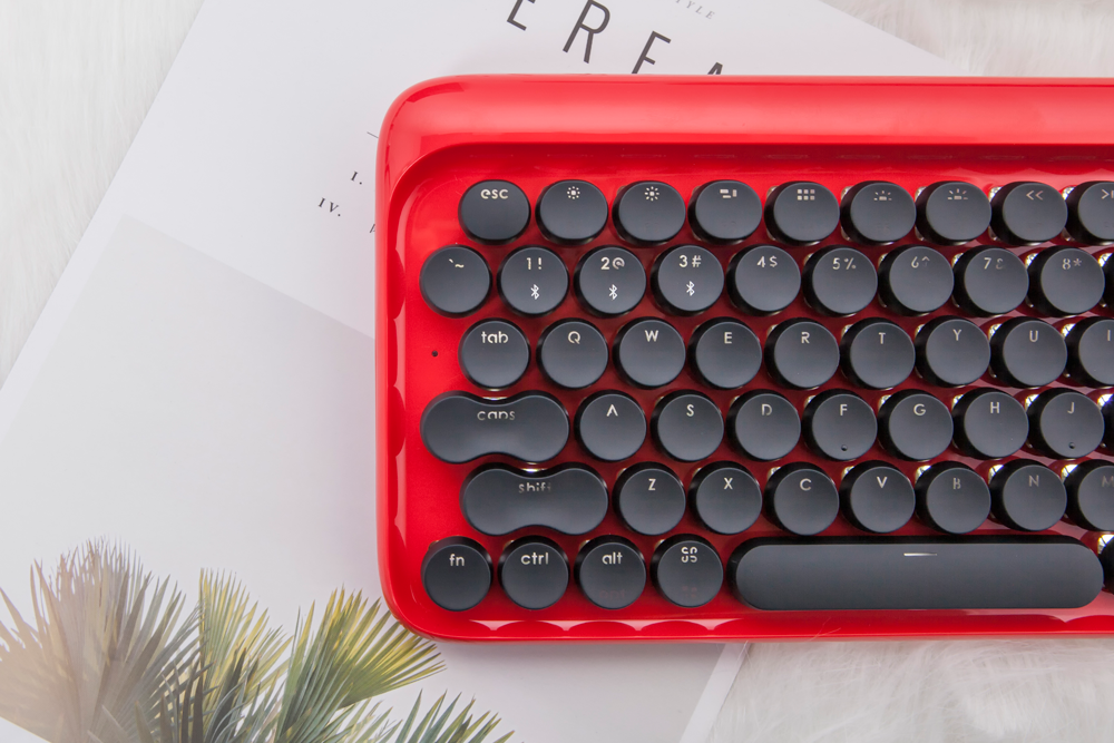 Lofree | DOT Retro Mechanical Keyboard – Lofree | Nostalgic Wireless