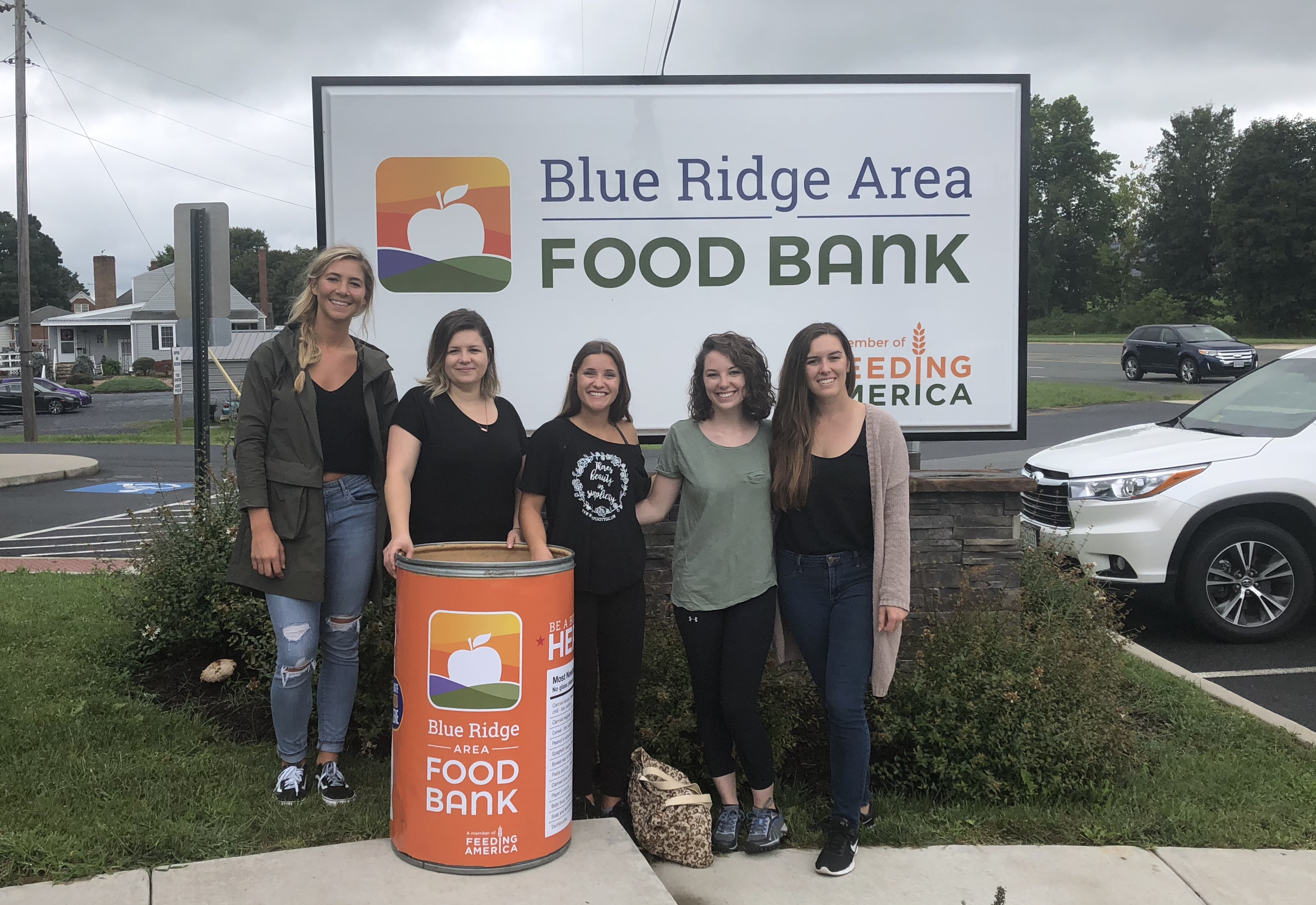 withSimplicity Team at Blue Ridge Area Food Bank