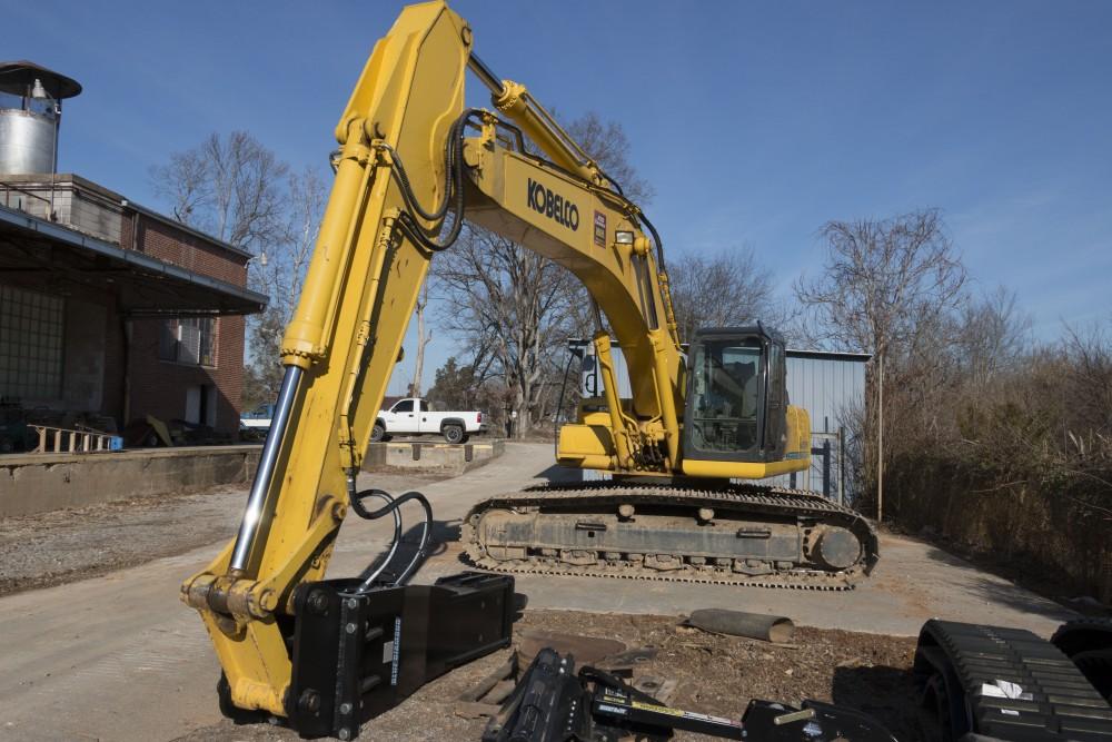 Excavator Concrete Breakers