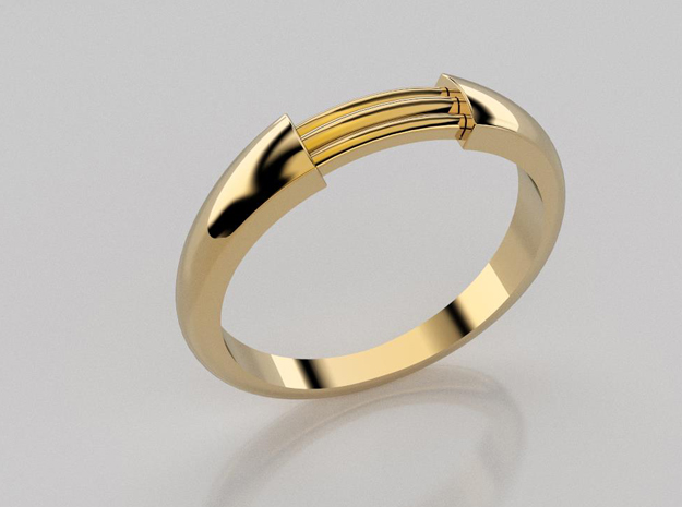 3D designed wrapped rings