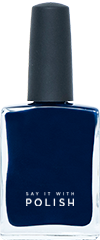 Navy Blue Nail Polish