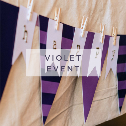 Violet Event - Chicago creative parties venue rental