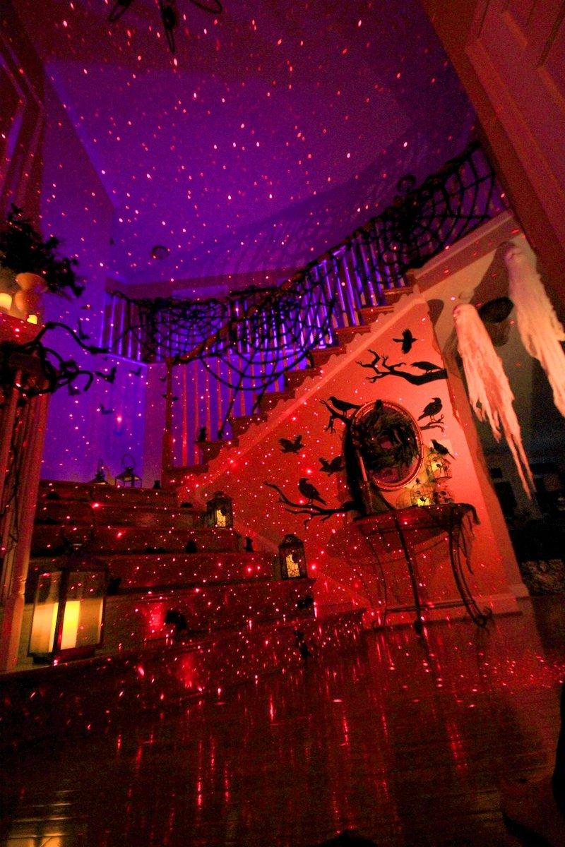 Halloween Red Laser Light Indoor decorations BlissLights Red