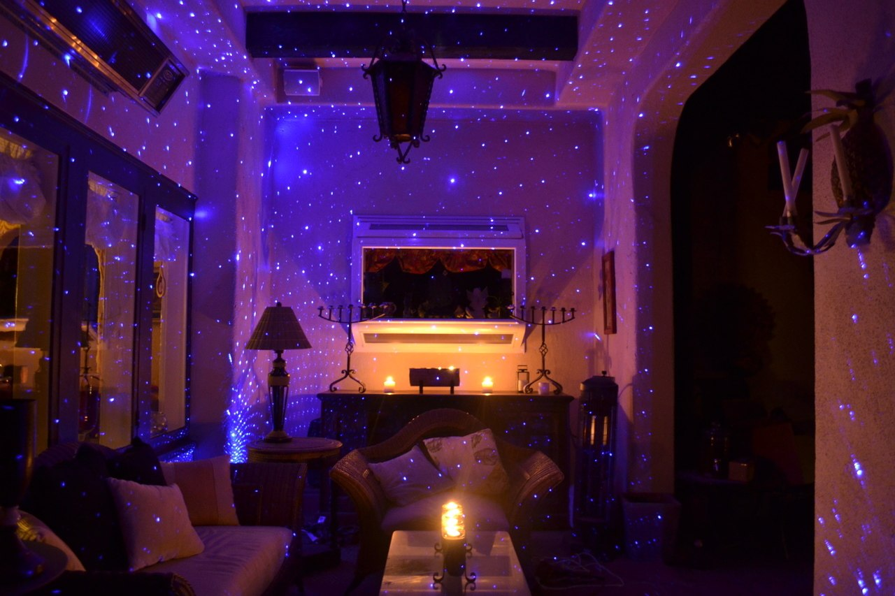 Blisslights Indoor Blue Fire Flies Laser Laser BlissLights