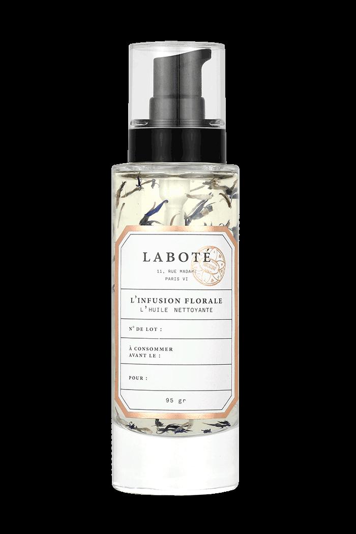 Infusion florale - huile pour nettoyer peau mature