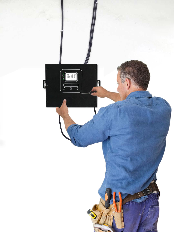 HiBoost signal booster installation